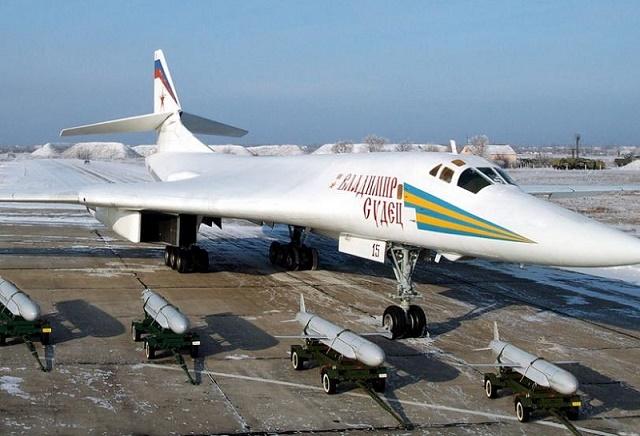 Боибардировщик ту-160