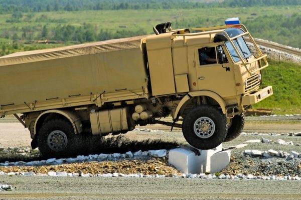 Беспилотный грузовик КамАЗ