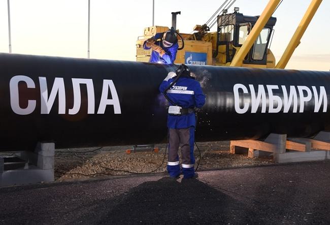 Сила Сибири газопровод