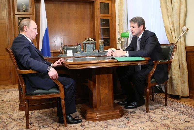 Ткачёв у Путина