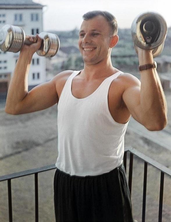 Юрий Гагарин спорт