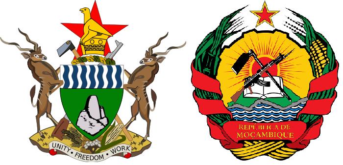 Герб Зимбабве и Мозамбика