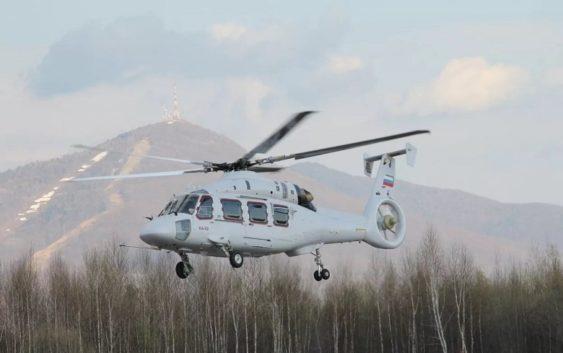 Видео первого испытательного полёта вертолёта Ка-62
