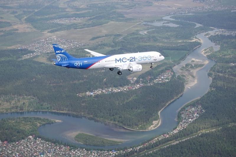 Новый российский самолет МС-21