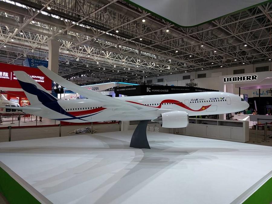Самолёт CR929