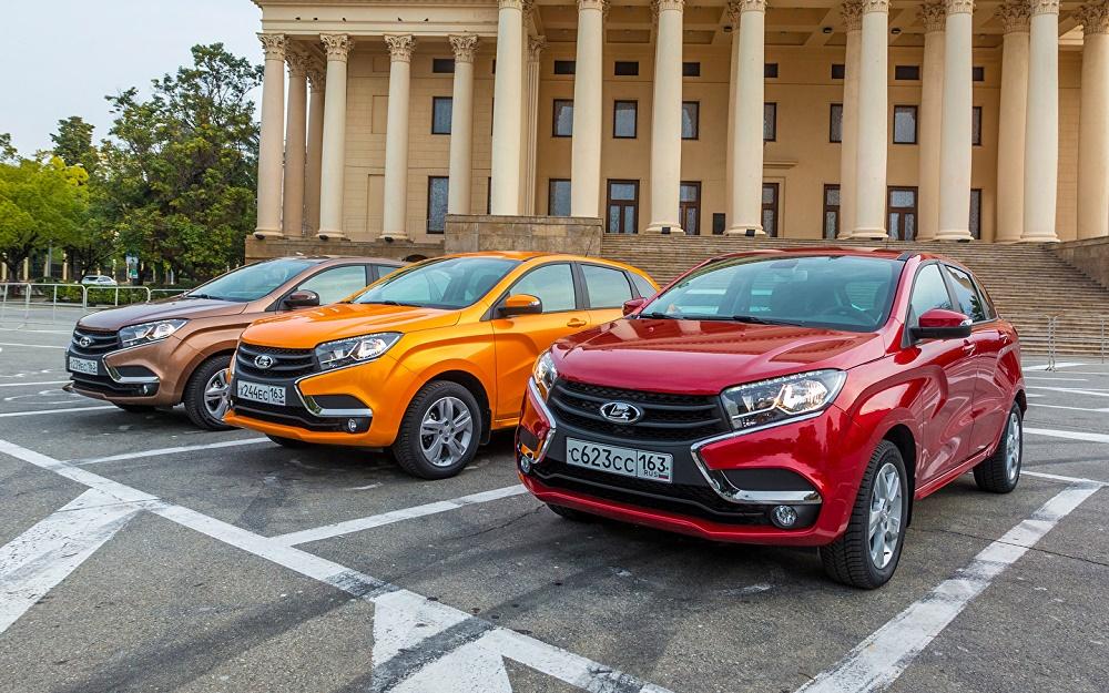 Самые популярные автомобили в России