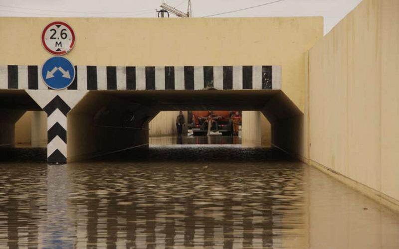 Опубликовано видео затопления Тушинского тоннеля
