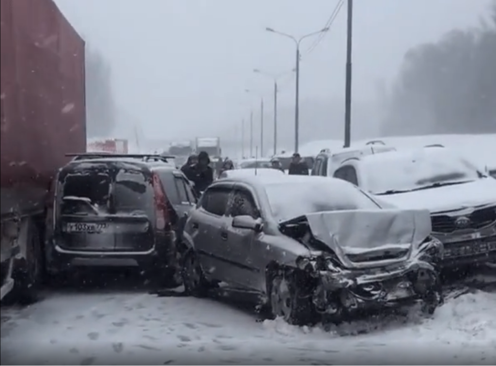 В Московской области произошло крупное ДТП