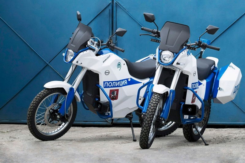 Электромотоцикл «ИЖ Пульсар».