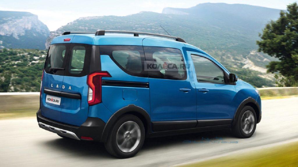Новый автомобиль Lada Van