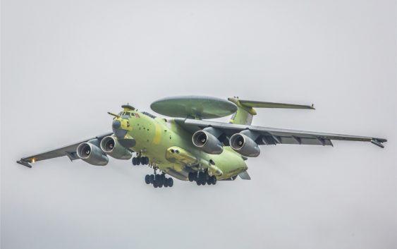 Первый полёт российского самолёта А-100