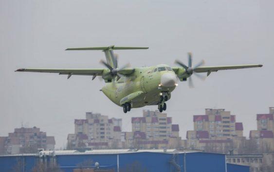 Новый транспортный самолёт России Ил-112В влетел!