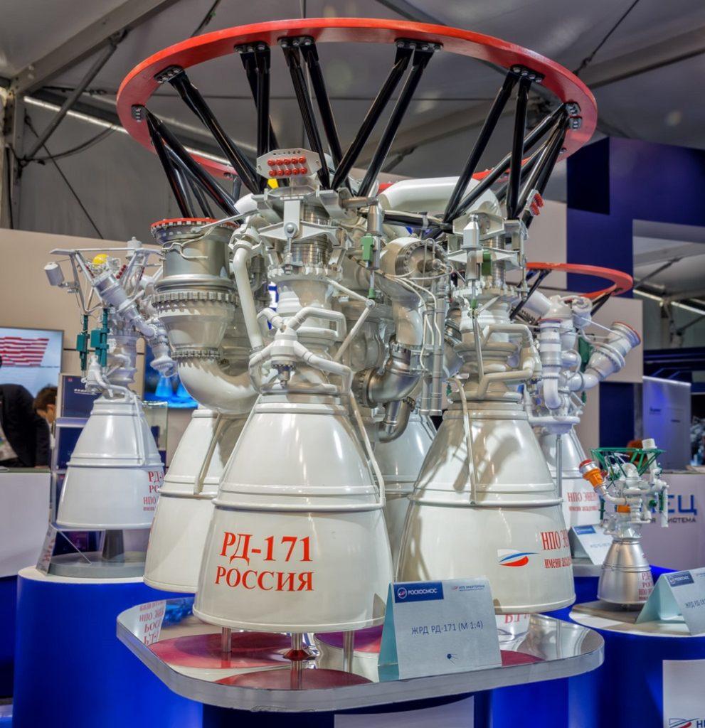 Самый мощный в мире ракетный двигатель РД-171МВ