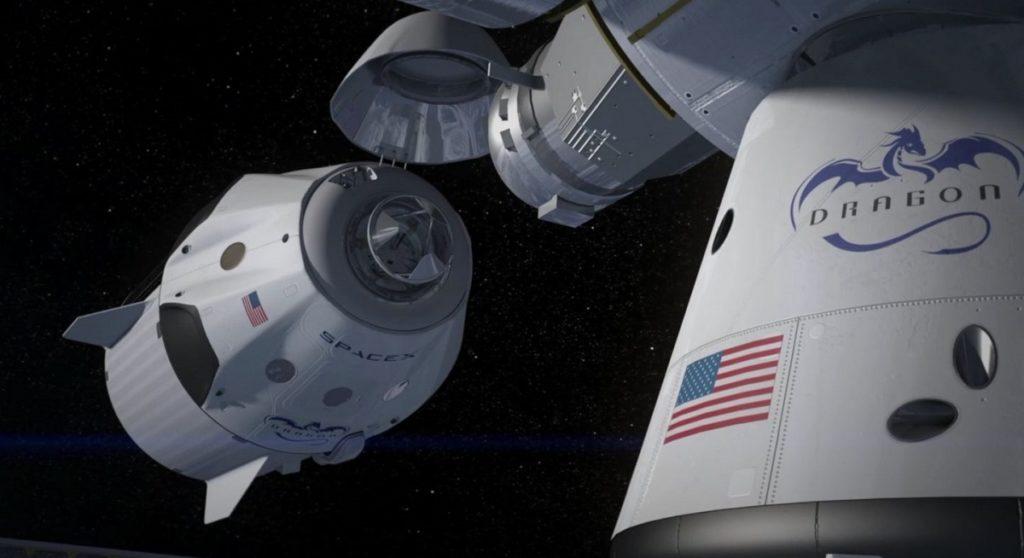 Видео: Корабль Илона Маска Dragon-2 запущен к МКС