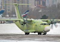 Первый полёт нового российского самолёта Ил-112В