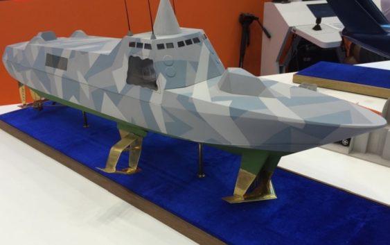 Первый в мире ракетный катер на подводных крыльях
