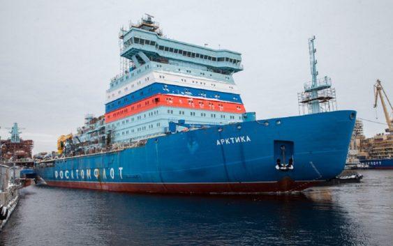 Два новых атомных ледокола «Арктика»