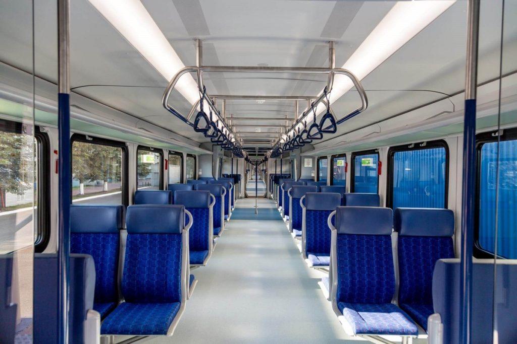 Новый поезд «Иволга» покажут в Москве