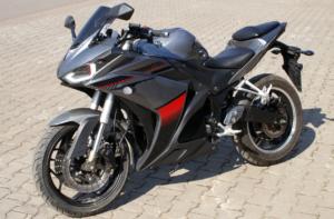 Электромотоцикл Electro R3 5000W 72V60AH