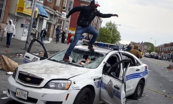 В США прошли уличные беспорядки