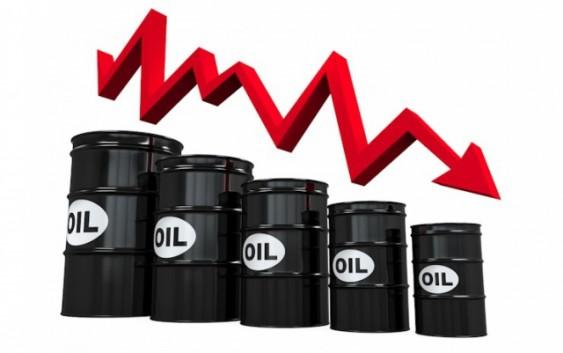 Как падала нефть?