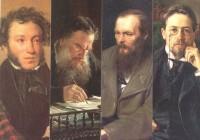 Самые выдающиеся писатели России