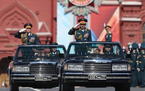 В Москве прошёл Парад Победы 9 мая