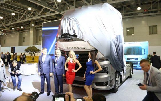 Новый грузовик КАМАЗ-54901 появится в 2019 году