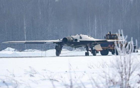 Российский супербеспилотник «Охотник» показал себя