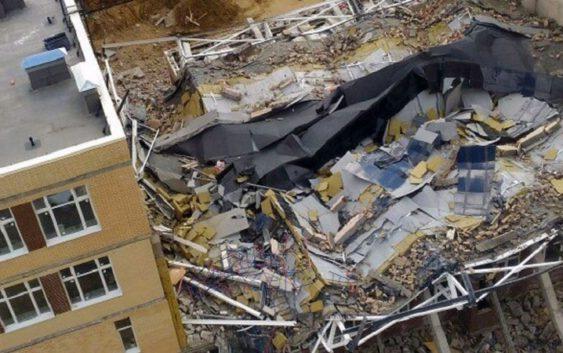 Как рухнуло здание университета ИТМО?