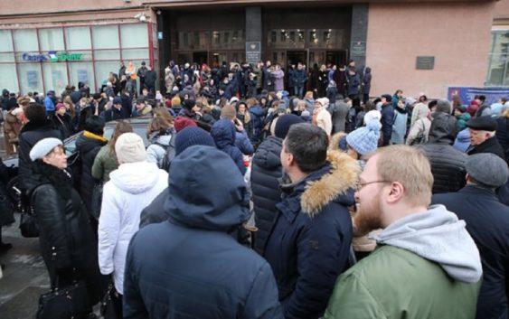 В Москве и Московской области прошла массовая эвакуация
