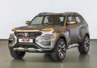 Как будет выглядеть новый внедорожник Lada 4×4?