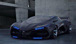 На свет появится электрический суперкар Lada Raven