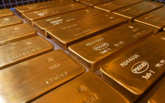 Россия стала крупнейшим покупателем золота в мире
