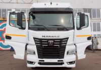 КАМАЗ показал новый тягач с кабиной К5