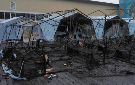 Хабаровский край: пожар в детском лагере