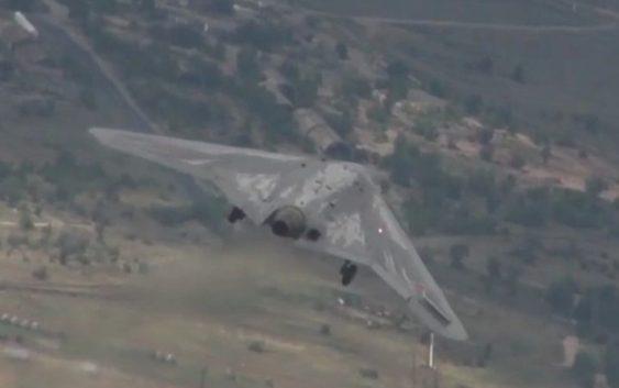 Новое видео полёта российского беспилотника «Охотник»